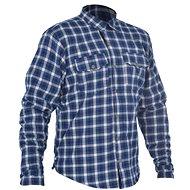 OXFORD košeľa KICKBACK CHECKER s Kevlar® podšívkou modrá/biela