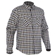 OXFORD košeľa KICKBACK CHECKER s Kevlar® podšívkou zelená khaki/biela