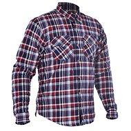 OXFORD košeľa KICKBACK CHECKER s Kevlar® podšívkou červená/modrá