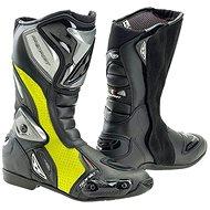 PREXPORT Sonic FL – žlté fluo - Topánky na motorku