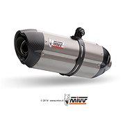 Mivv Suono Full Titanium / Carbon Cap pro Kawasaki ZX-10 R (2008 > 2010) - Koncovka výfuku