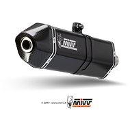 Mivv Speed Edge Black Stainless Steel pre Moto Guzzi Stelvio (2008 > 2016) - Koncovka výfuku