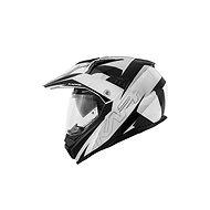 KAPPA KV30 Enduro Flash (čierna) - Prilba na motorku