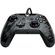 PDP Wired Controller – Xbox One – čierna kamufláž - Gamepad