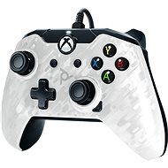 PDP Wired Controller – Xbox One – biela kamufláž - Gamepad