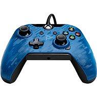 PDP Wired Controller – Xbox One – modrá kamufláž - Gamepad