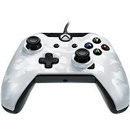 PDP Deluxe Wired Controller – Xbox One – biela kamufláž - Gamepad