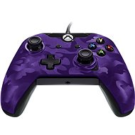 PDP Deluxe Wired Controller – Xbox One – fialová kamufláž