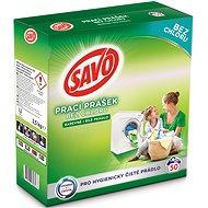 SAVO farebné aj biele 3,5 kg (50 praní) - Prací prášok