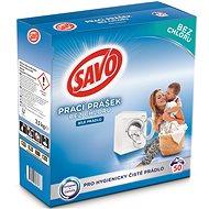 SAVO biela bielizeň 3,5 kg (50 praní) - Prací prášok