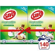 SAVO farebné aj biele 2× 5 kg (140 praní) - Prací prášok