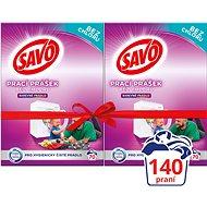 SAVO farebná bielizeň 2× 5 kg (140 praní) - Prací prášok