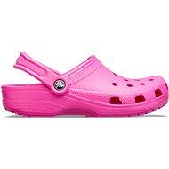 CROCS Classic Electric Pink, veľkosť 42-43 - Šľapky