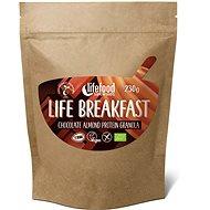 Lifefood Life Breakfast Bio Raw Granola čokoládová s mandľami - Proteínová kaša