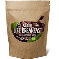 Lifefood Life Breakfast Bio Raw Kaša kakaová s quinoou - Proteínová kaša