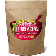 Lifefood Life Breakfast Bio Raw Kaša malinová s makadámiami - Proteínová kaša
