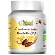 Lifefood Kakaové maslo RAW BIO - Maslo