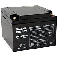 GOOWEI ENERGY OTL26-12, batéria 12 V, 26 Ah, DEEP CYCLE - Trakčná batéria