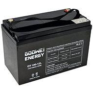 GOOWEI ENERGY OTL100–12, batéria 12V, 100Ah, DEEP CYCLE - Trakčná batéria