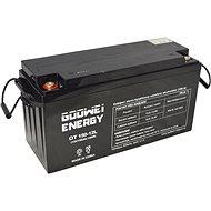 GOOWEI ENERGY OTL150–12, batéria 12V, 150Ah, DEEP CYCLE - Trakčná batéria
