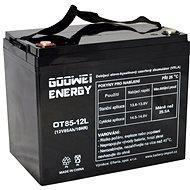 GOOWEI ENERGY OTL85-12, batéria 12V, 85Ah, DEEP CYCLE - Trakčná batéria