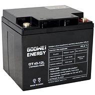 GOOWEI ENERGY OTL45-12, batéria 12 V, 45 Ah, DEEP CYCLE - Trakčná batéria