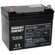 GOOWEI ENERGY OTL35-12, batéria 12 V, 35 Ah, DEEP CYCLE - Trakčná batéria