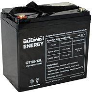 GOOWEI ENERGY OTL55-12, batéria 12V, 55Ah, DEEP CYCLE - Trakčná batéria