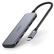 Ugreen 5 in 1 USB-C Hub To 4 Ports With 60W PD - USB hub