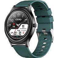 WowME Roundwatch čierno/zelené - Smart hodinky