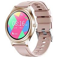 WowME Roundwatch ružové - Smart hodinky