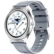 WowME Roundwatch strieborné - Smart hodinky