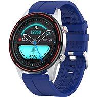 WowME Roundswitch strieborno/modré - Smart hodinky