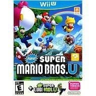 Nintendo Wii U - New Super Mario Bros. + New Super Luigi - Hra pre konzolu
