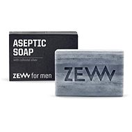 ZEW FOR MEN Aseptic soap with colloidal silver 85 ml - Bar Soap