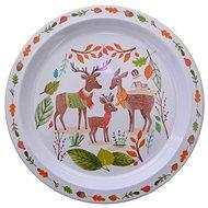 Petite & Mars Melamínový tanier – jeleň - Tanier