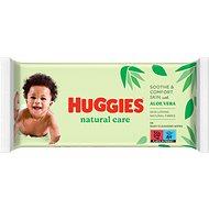 HUGGIES Natural Care 56 ks - Detské vlhčené obrúsky