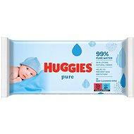 HUGGIES Pure 56 ks - Detské vlhčené obrúsky