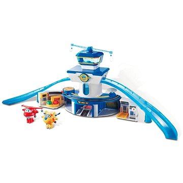 Super Wings - Velká kontrolní věž, hrací set + Jett a Donnie