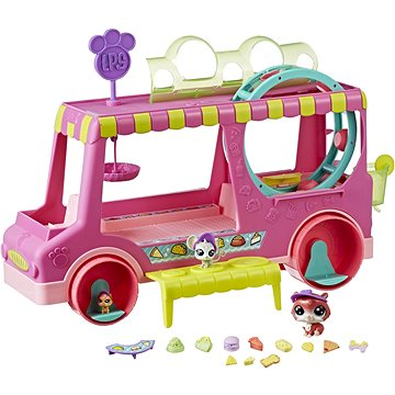 Littlest Pet Shop Cukrárske auto s 3 zvieratkami