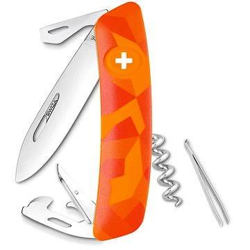 Swiza švajčiarsky vreckový nôž C03 Lucom orange