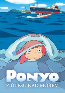 Ponyo z útesu nad mořem