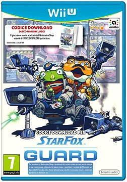 Nintendo Wii U - Starfox Guard (iba kod k stiahnutiu)