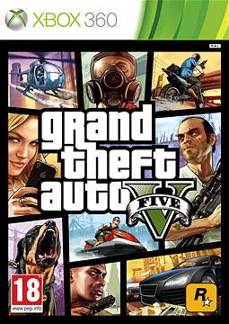 Grand Theft Auto V (GTA 5) – Xbox 360