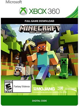 Minecraft - Xbox 360 DIGITAL