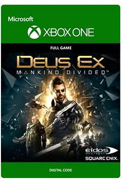 Deus Ex Mankind Divided: Standard Edition - Xbox One DIGITAL