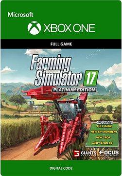 Farming Simulator 17 - Platinum Edition - Xbox One Digital