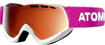 a5df8d6d0 Atomic Savor JR White/Orange veľ. NS - Lyžiarske okuliare | Alza.sk