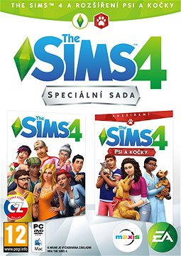 The Sims 4: Psy a Mačky bundle (Plná hra + rozšírenie)