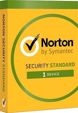 Symantec Norton Security Standard 3.0 CZ, 1 používateľ, 1 zariadenie, 12 mesiacov